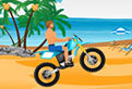 Motociclism pe Plaja