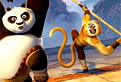 Coloreaza Kung Fu Panda