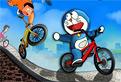 Intreceri pe Bicicleta cu Doraemon