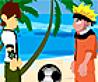 Fotbal cu Naruto si Ben 10