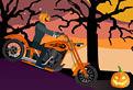 Hallooween pe Motocicleta