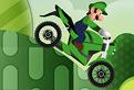 Luigi in Cursa cu Motocicleta
