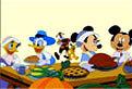 Mickey Mouse cu Prietenii la Masa