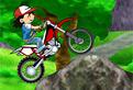 Ash Ketchum pe motocicleta