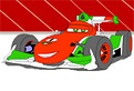 Racing Car Coloring 2