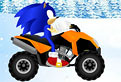 Sonic pe ATV prin Zapada