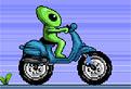 Extraterestrul Motociclist
