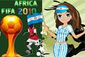 Argentina Fan Dressup