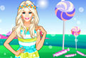 Barbie si Tinuta cu Bomboane
