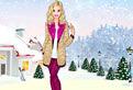 Tinuta de Iarna pentru Barbie