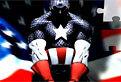 Puzzle cu Capitanul America