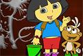 Coloreaza-o pe Dora!