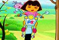 Dora, Motocicleta si Florile