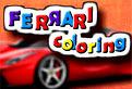 Coloreaza o Masina Ferrari!
