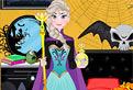 Elsa Decoreaza de Halloween