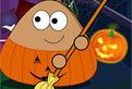 Pou Face Curatenie de Halloween
