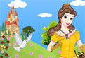Printesa Belle Dress Up
