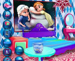 Decoreaza Camera cu Anna si Elsa
