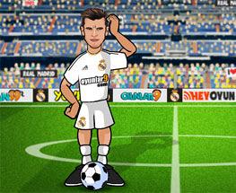 Gareth Bale Loveste Mingea