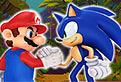 Sonic il Eliberaza pe Mario