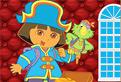 Dora Puzzle cu Pirati