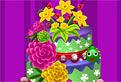 Tort cu Flori de Primavara