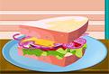 Yummy Sandwich Decoration