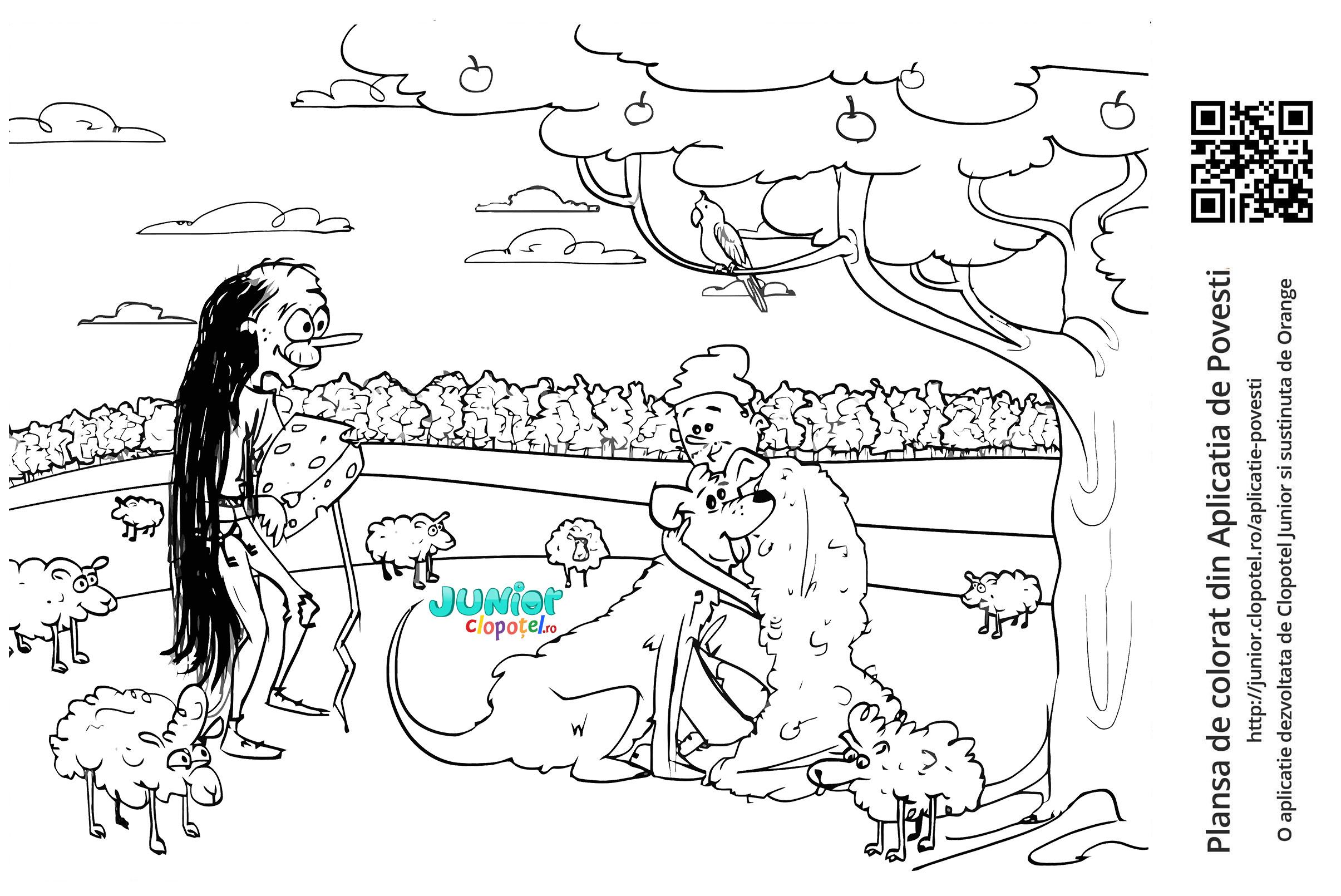 Ciobanul si cainele