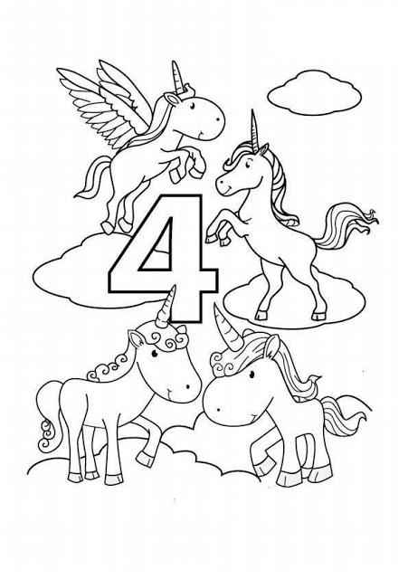 Patru unicorni