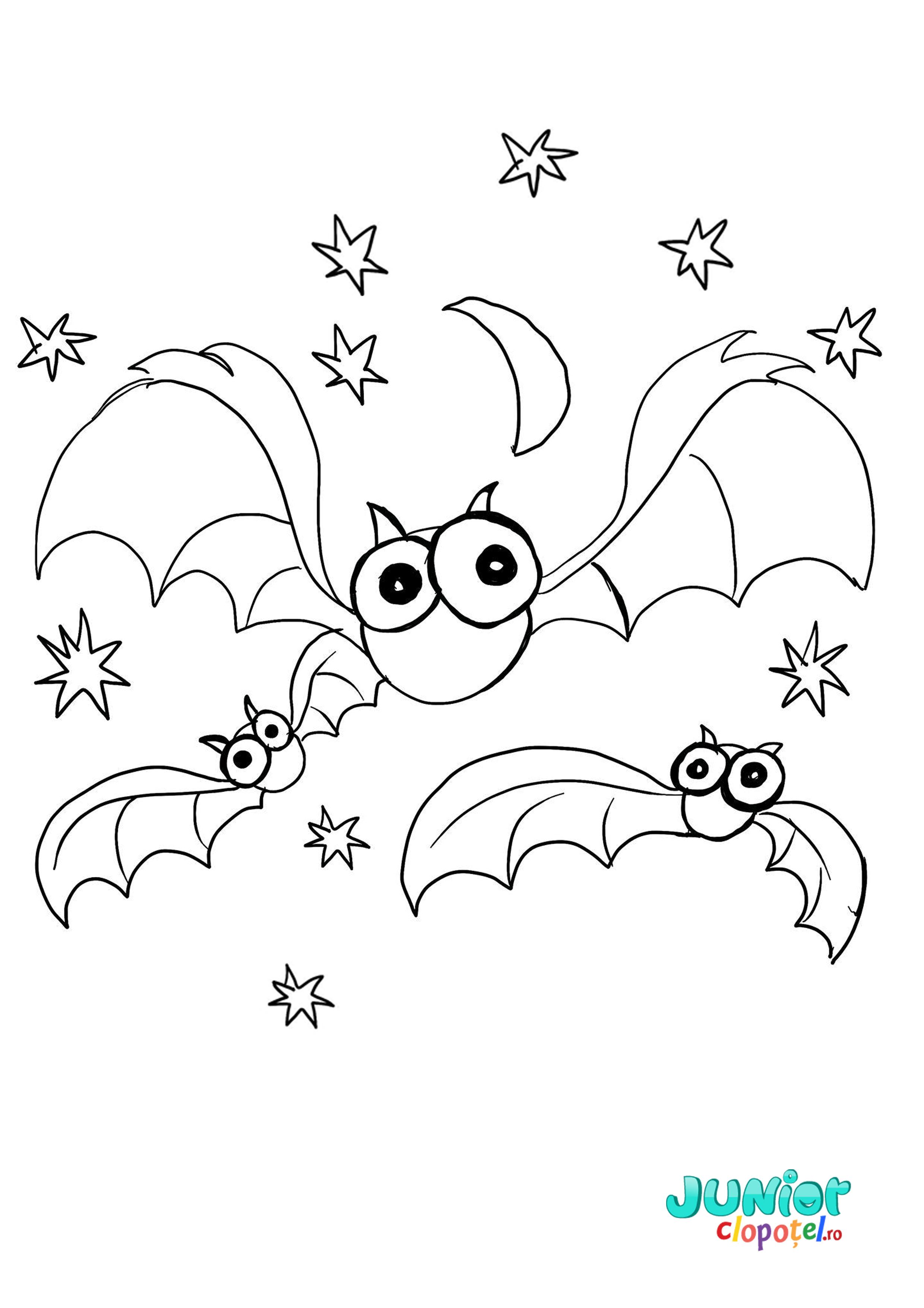Liliecii Stelele Si Luna De Halloween