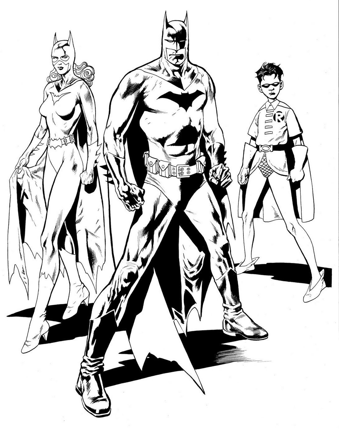 Batman, Batgirl si Robin