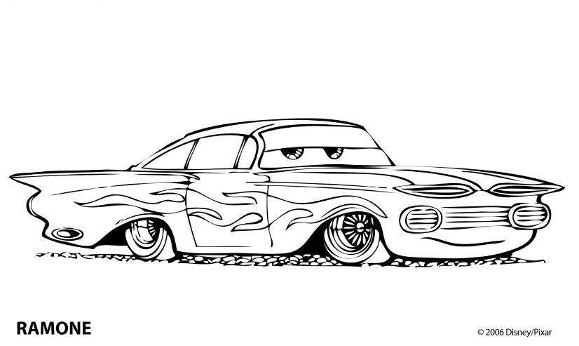 Ramone din animatia Cars