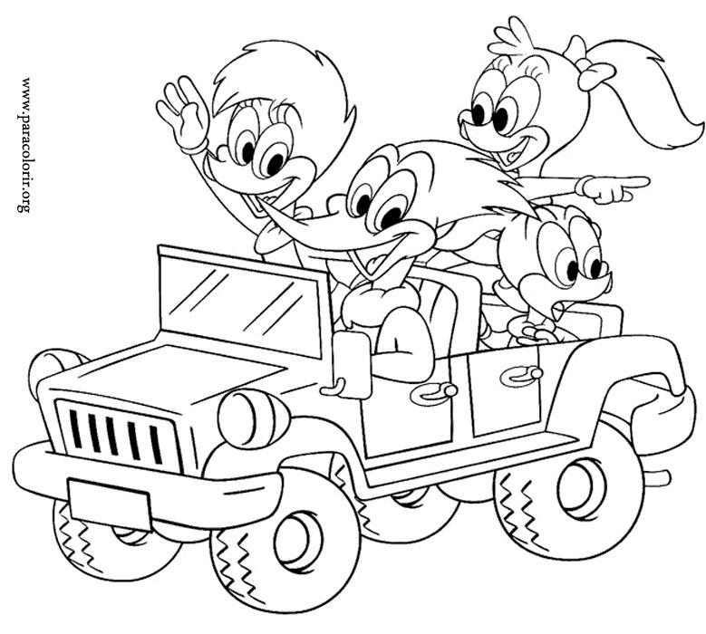 Ciocanitoarea Woody si prietenii