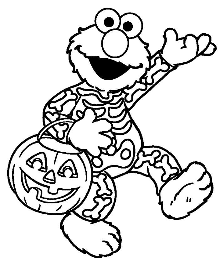 Halloween cu Elmo