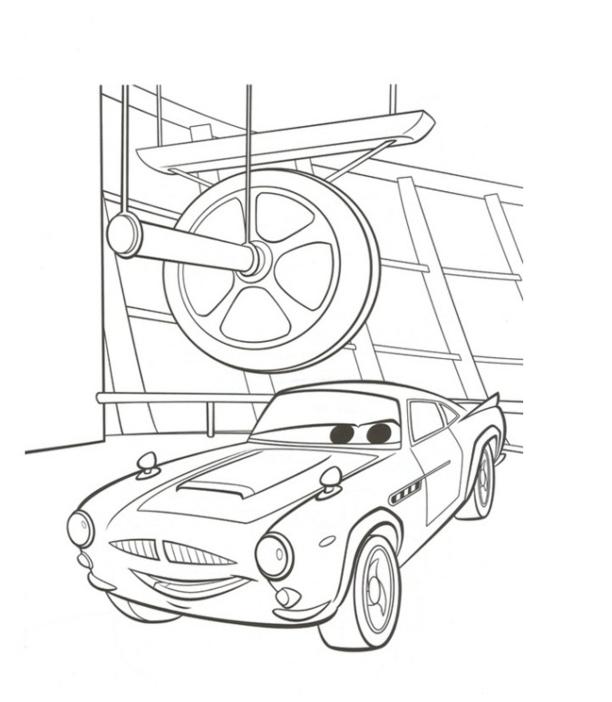 Finn Racheta Din Cars 2
