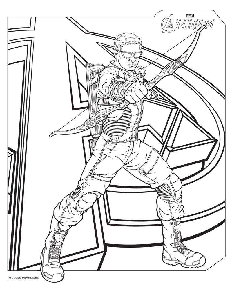 Hawkeye din Avengers