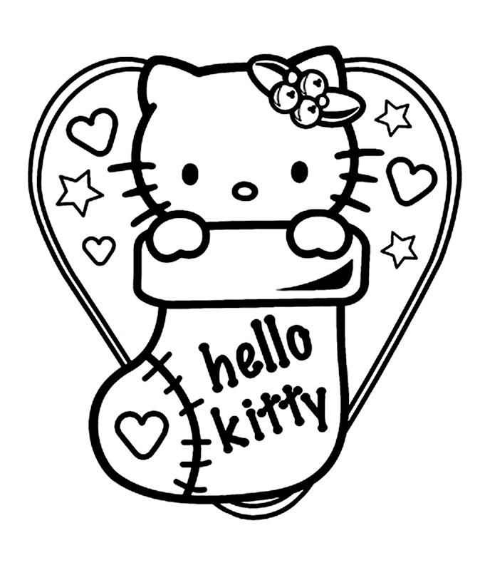 Hello Kitty Si Ciorapul De Craciun