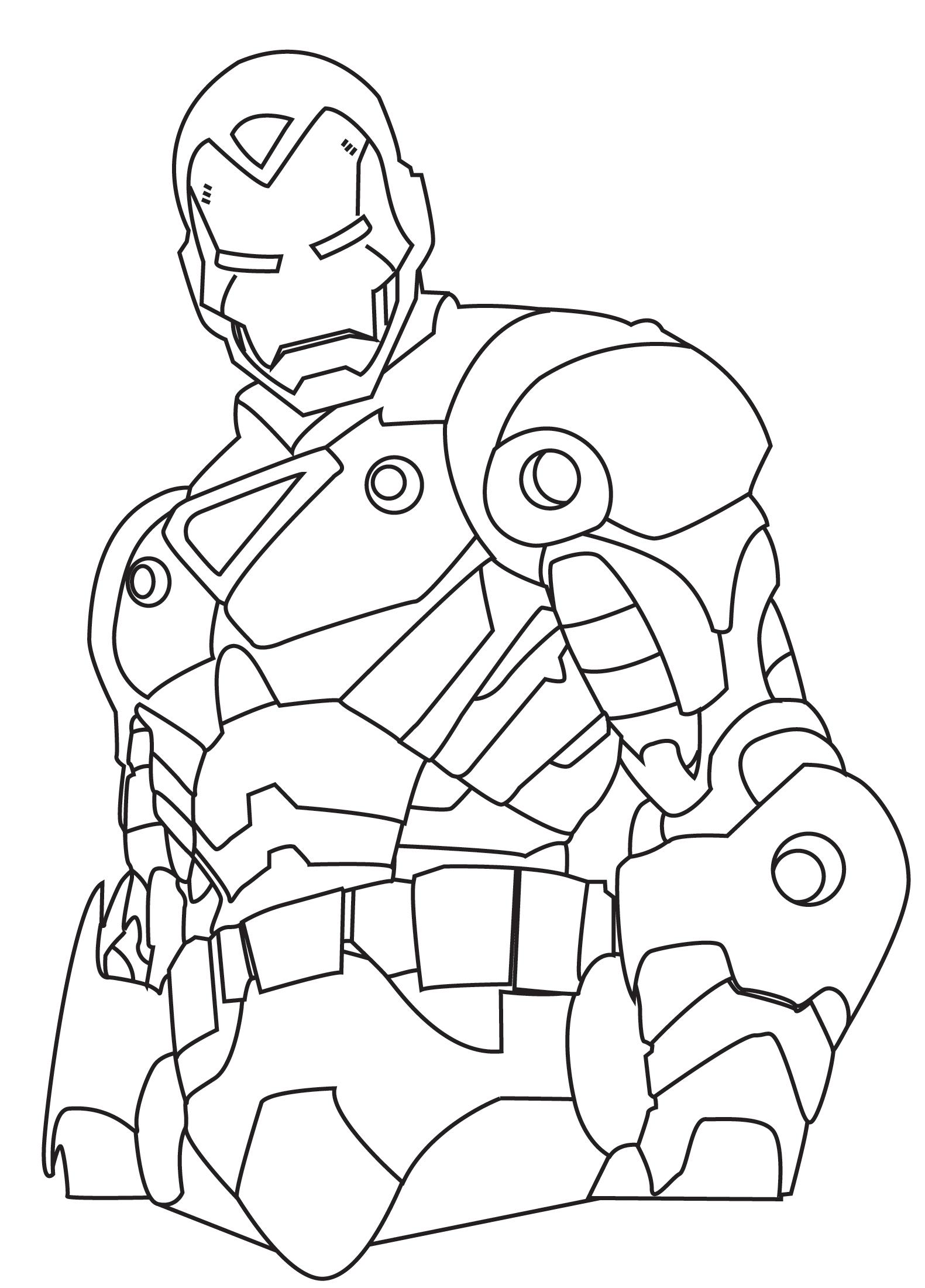 Ironman De Colorat
