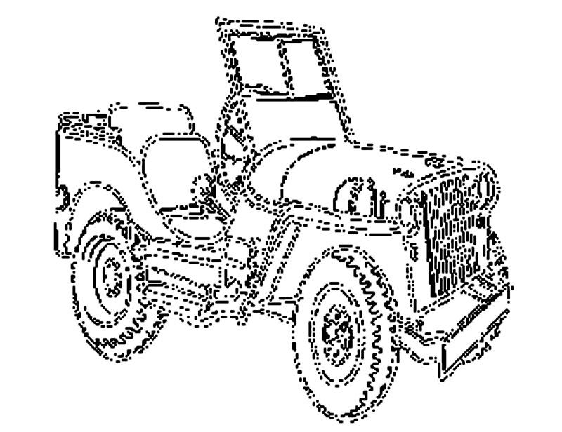 Coloreaza Un Jeep