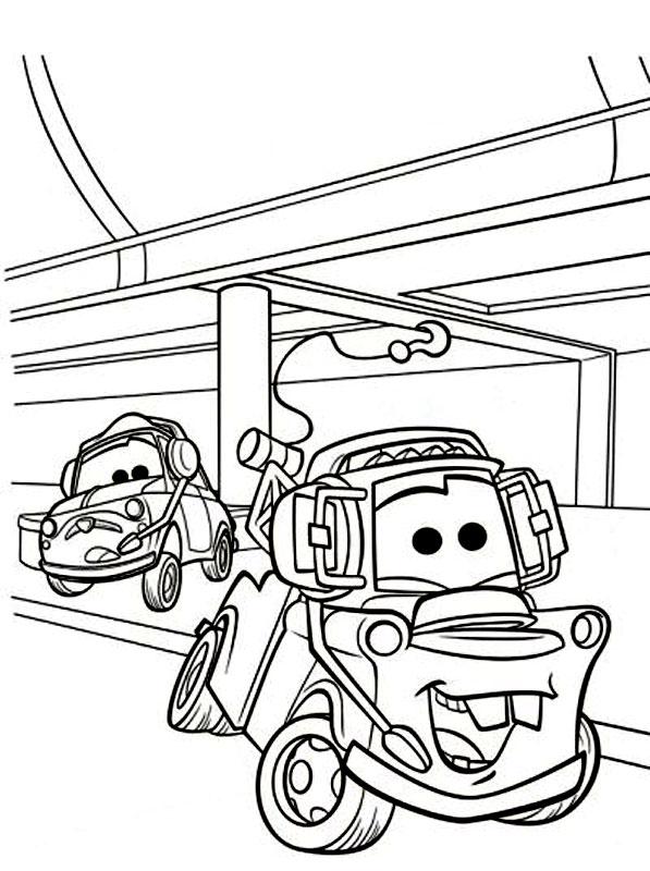 Luigi si Bucsa din Cars