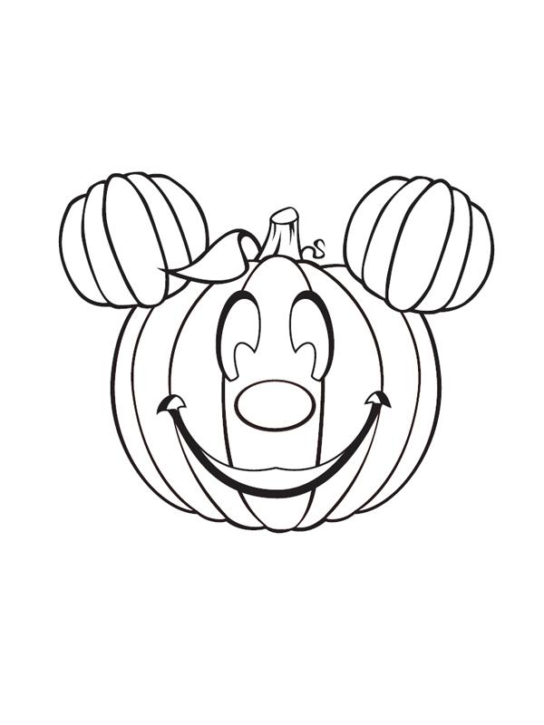 Mickey este un dovleac