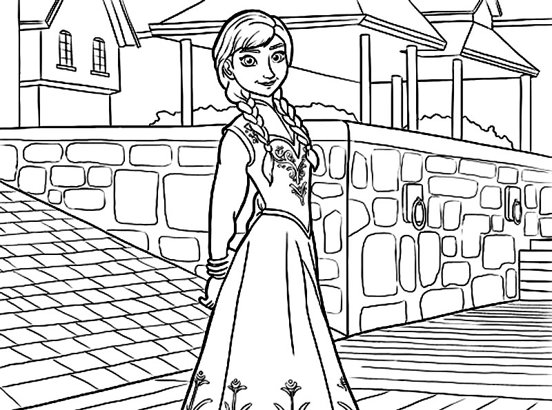Printesa Anna Din Regatul Inghetat