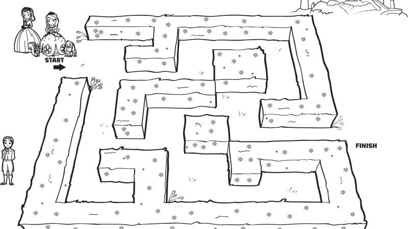 Sofia Intai in labirint