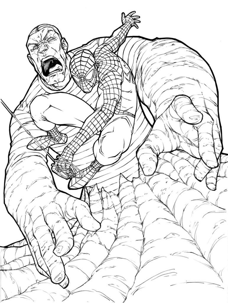 Spider-Man si Sandman
