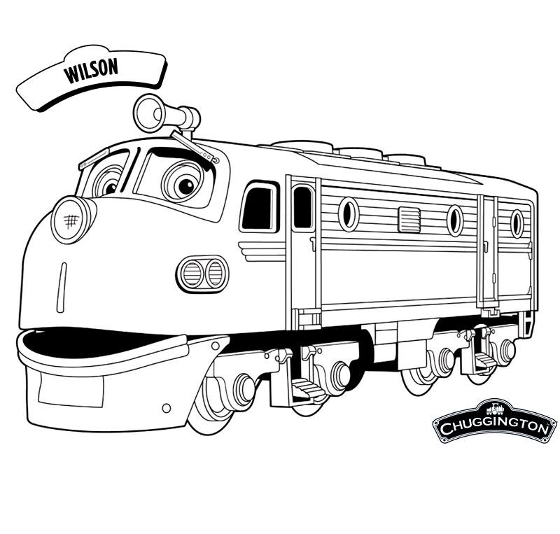 Trenuletul Wilson din animatia Chuggington