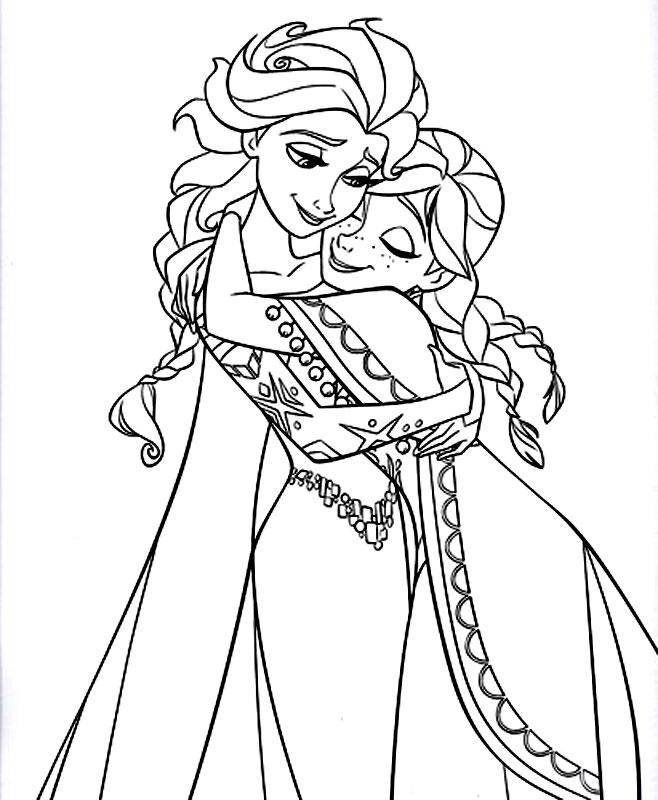 Anna Si Elsa Din Frozen