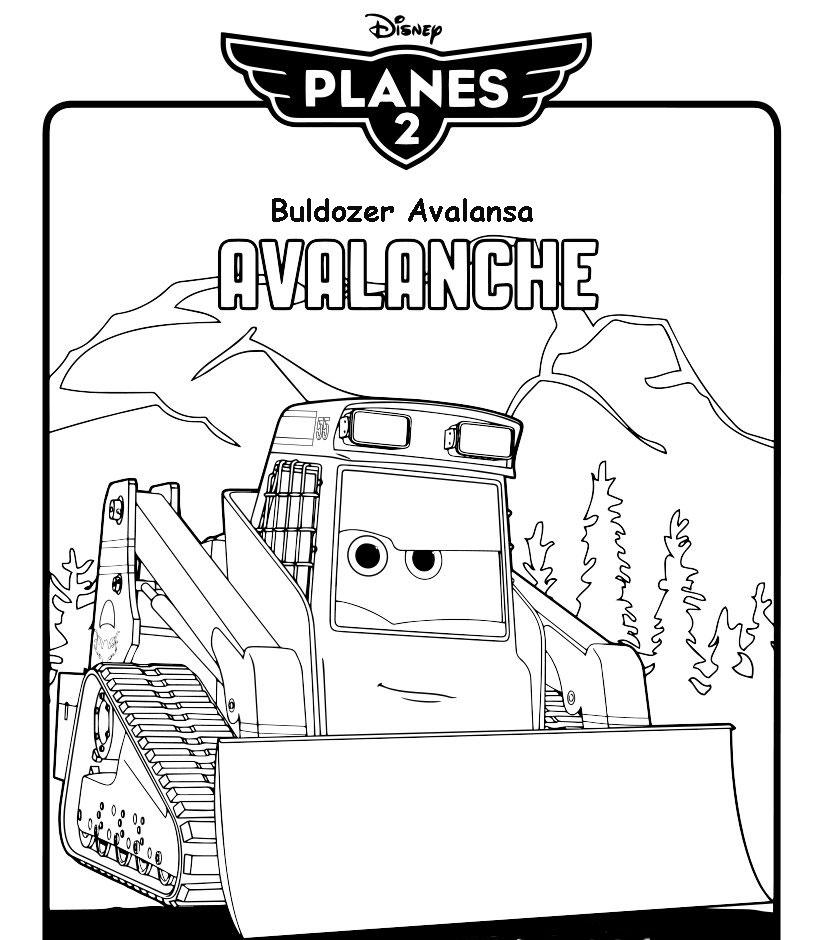 Buldozerul Avalansa din Avioane: Echpa de Interventie
