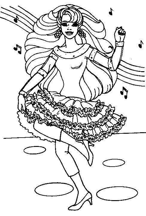 Barbie danseaza
