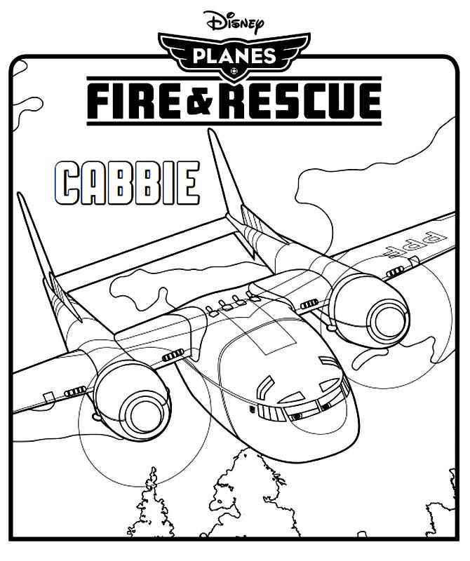 Avionul Cabbie din Avioane Echipa de Interventii