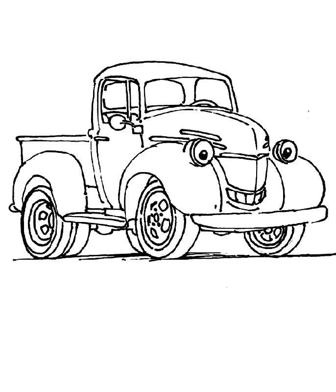 Camioneta vesela